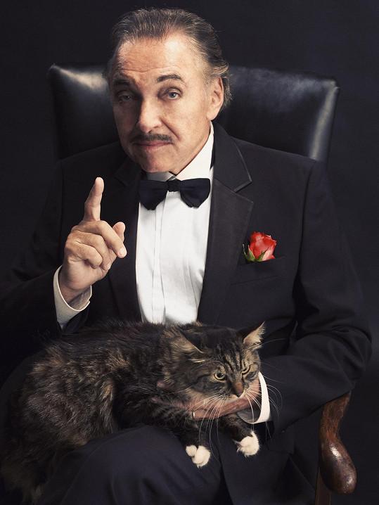 Finální foto Karla Gotta alias Dona Corleoneho