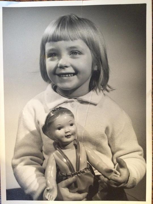 Už jako holčička měla výrazné oči.