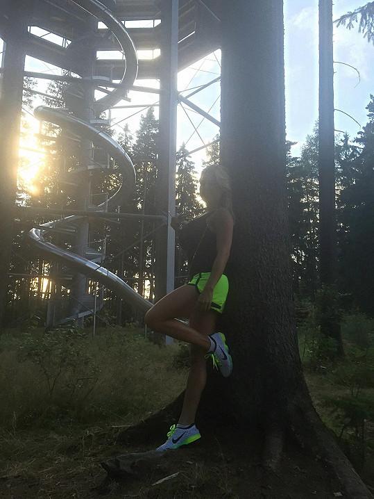 Eva miluje přírodu.