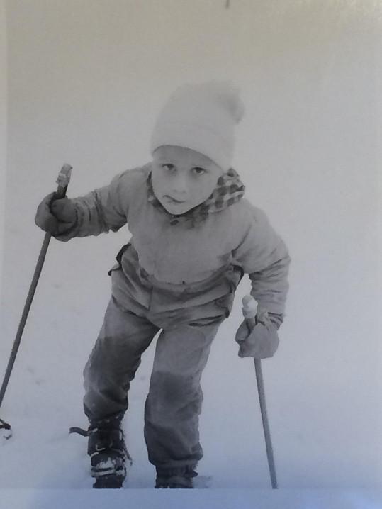 Janek válel na lyžích už v pěti letech.