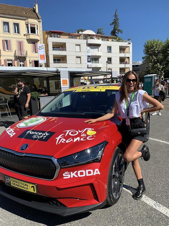 Andrea Bezděková vyrazila do Francie na závody Tour de France.