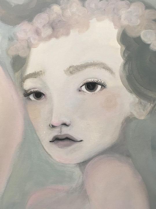 V jejím díle se často objevují autoportréty.