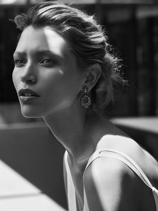 Hana v kampani pro značku David Yurman očima módního fotografa Joseho Olinse.