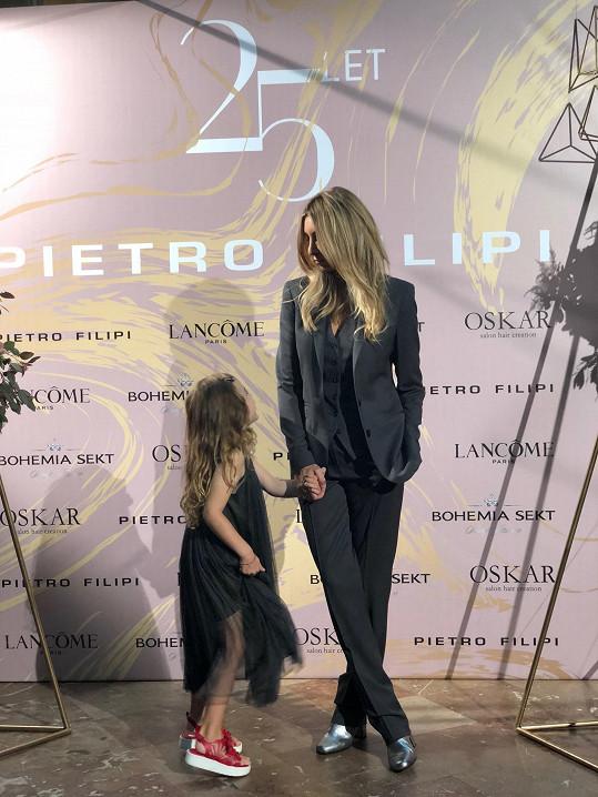 Ivana s dcerou Isabelou