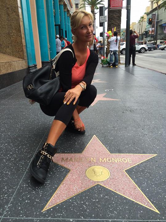 U hvězdy Marilyn Monroe