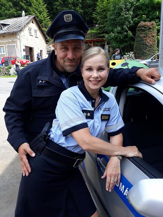 S kolegou Michalem Holánem alias Jájou je vždycky legrace.