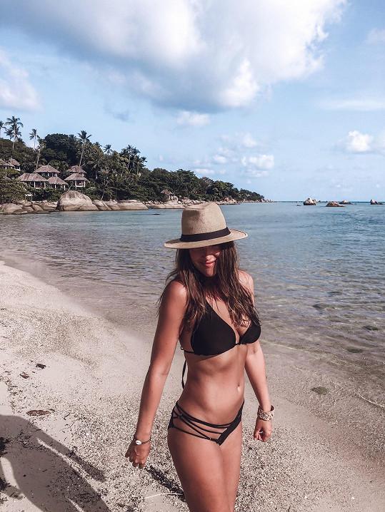 V Thajsku se Kateřina vrátila k boxu a dře na sobě.