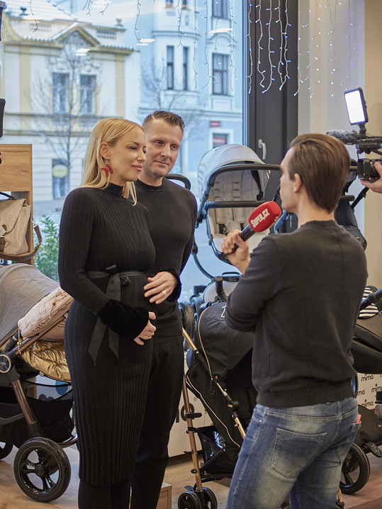 Během rozhovoru pro Super.cz