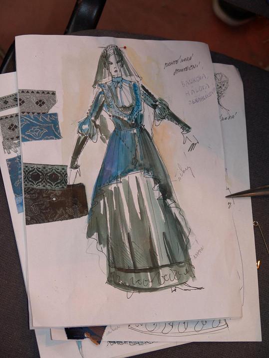 Kostým v představě výtvarníka Romana Šolce