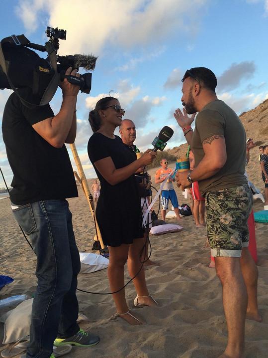 Osmanyho narozeniny natáčela i místní televize.