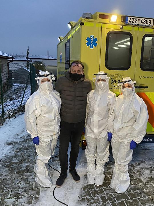 Marian Vojtko se nechal testovat kvůli podezření na koronavirus.
