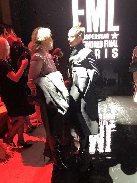 Ema Müllerová žije v Paříži. Finále soutěže Elite Model Look si tedy nenechala ujít.