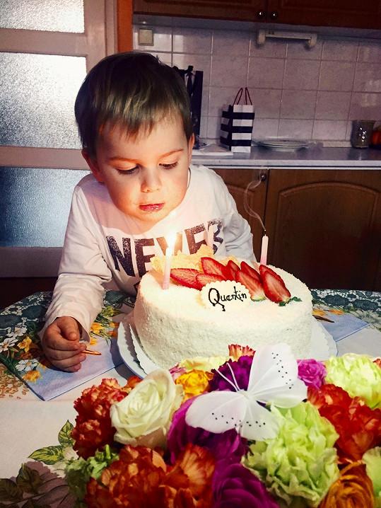 Dostal hned dva dorty, z obou byl nadšený.
