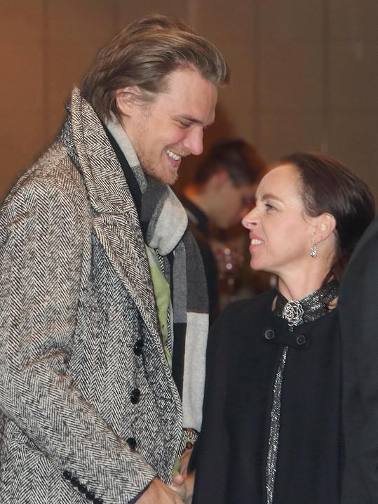 Pár dorazil na předávání Cen české filmové kritiky.
