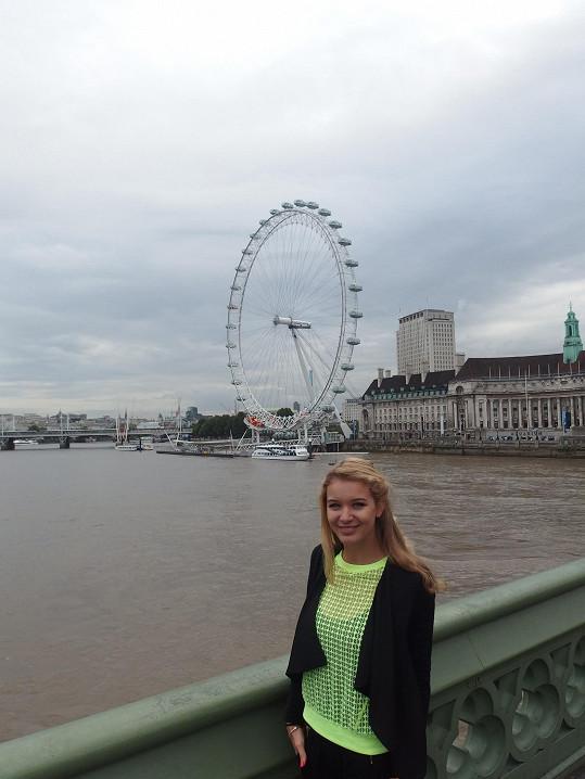 Panorama s Londýnským okem