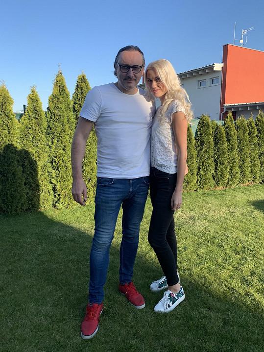 Marian Vojtko byl hlavně doma na zahradě a se svou partnerkou.