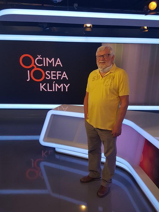 Josefa Klíma má za sebou kariéru na Nově i Primě. Nyní je k vidění na Televizi Seznam.