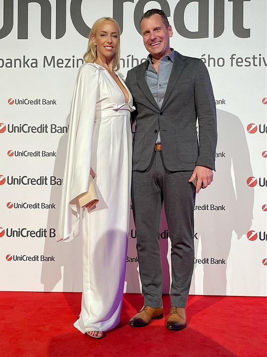 Kate s partnerem Michalem Kovářem