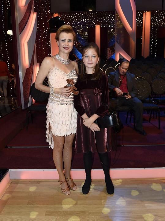 Jitka s dcerou