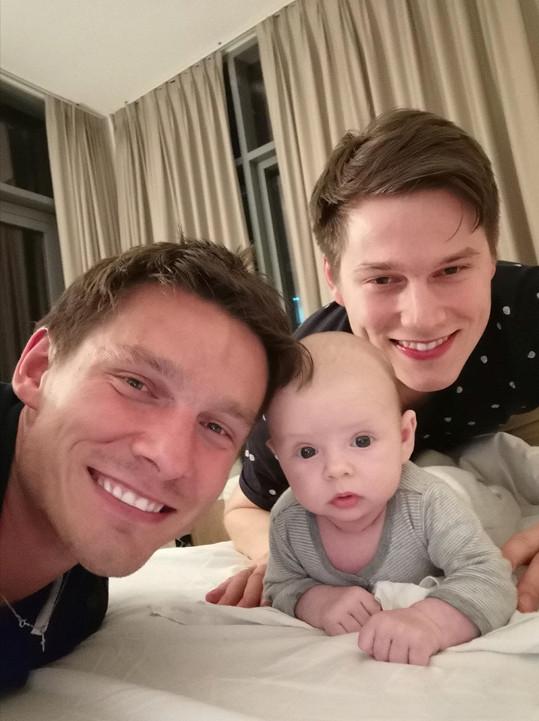 Pavel s bratrem a synovcem