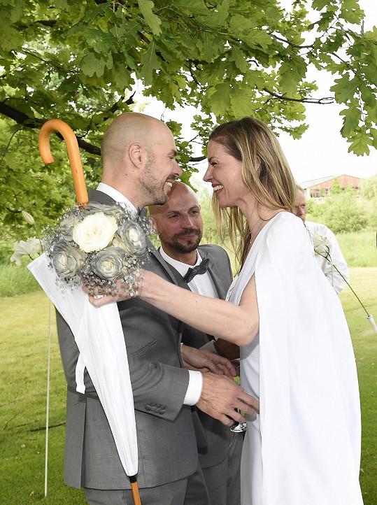 Gratulace po obřadu