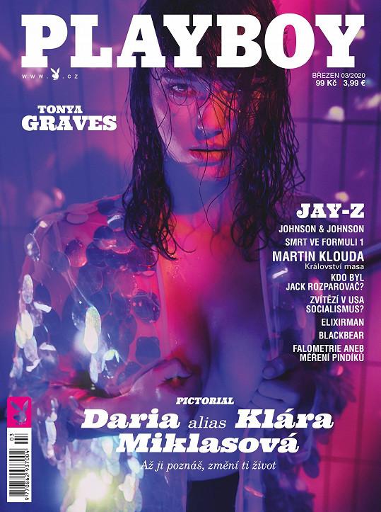 Klára Miklasová na titulní straně