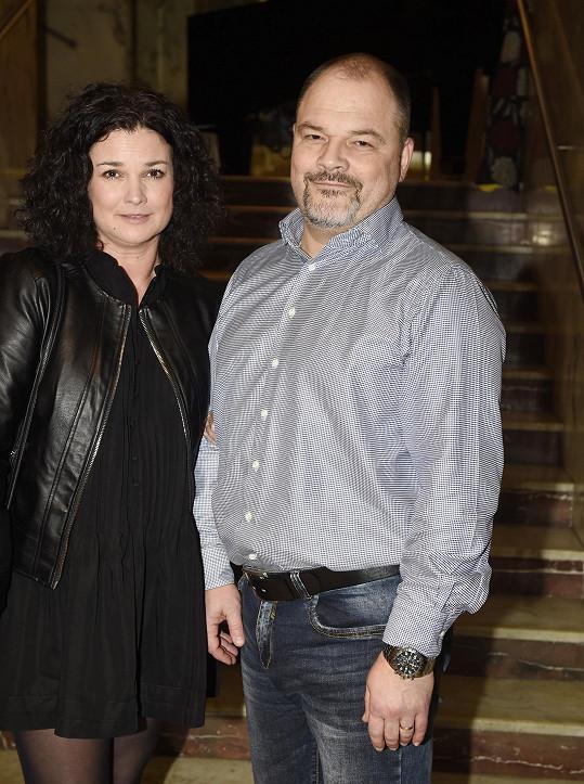 S manželem Martinem Preissem