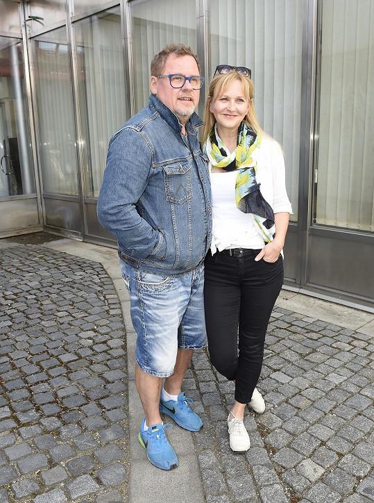 Václav Kopta s manželkou Simonou Vrbickou