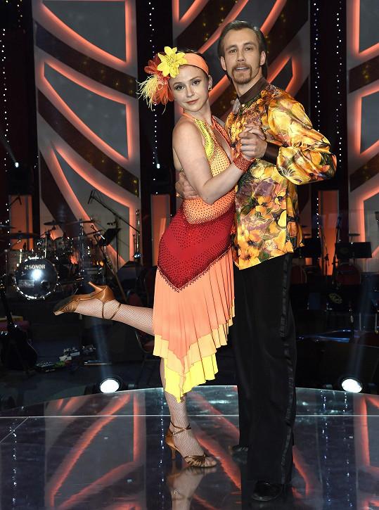Marie Doležalová s Markem Zelinkou