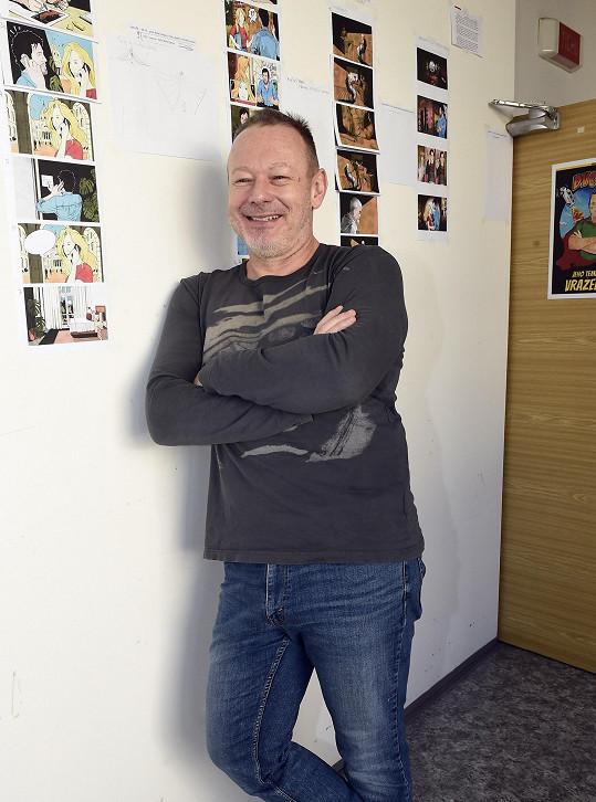 Michal Dvořák během pandemie pracuje na novém obřím projektu.