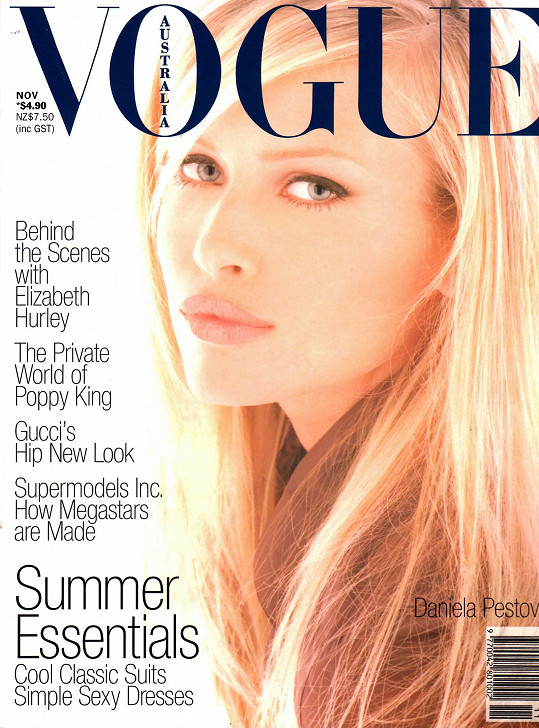 Daniela na obálce módní bible Vogue