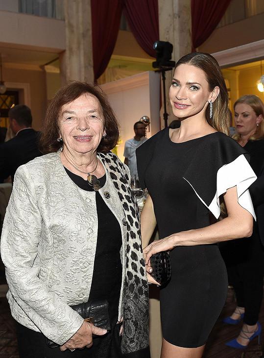 A na Mall párty s Andreou Verešovou