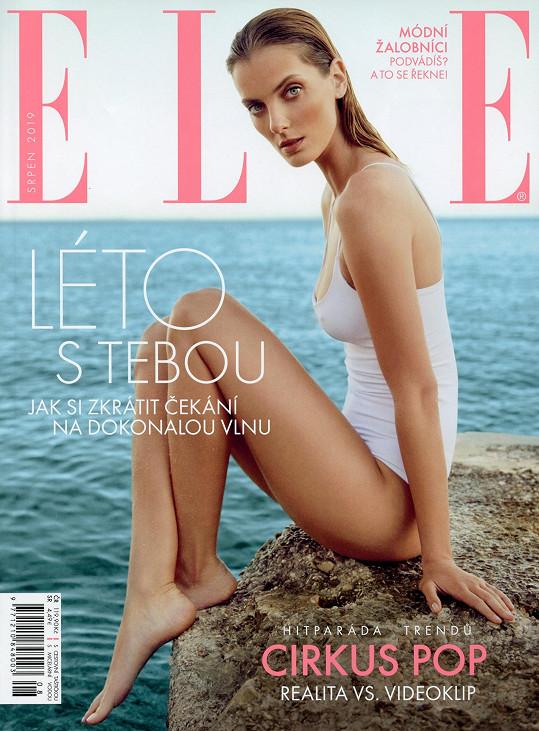 Dříve sama pózovala pro českou Elle. Nyní pro magazín fotila finalisty Schwarzkopf Elite Model Look.
