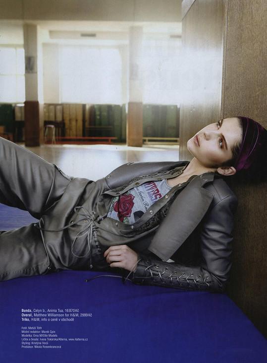 Ema v době působení v modelingu