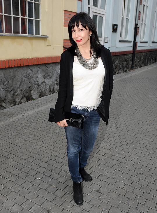 Zaskočila i herečka Nela Boudová.