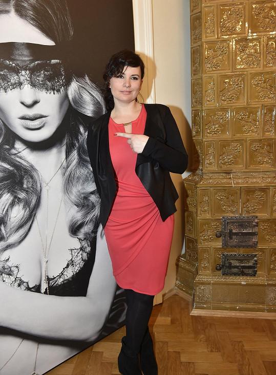 Čvančarová na otevření showroomu kamarádky Pavlíny Němcové