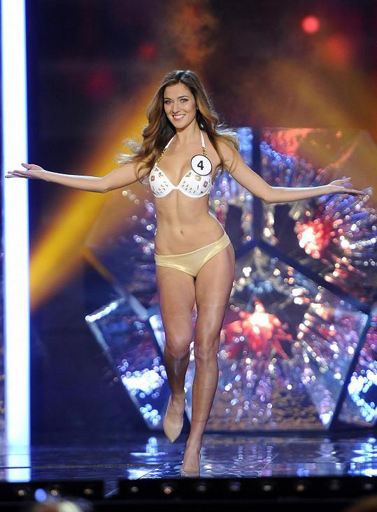 Andrea Bezděková je novou Českou Miss.