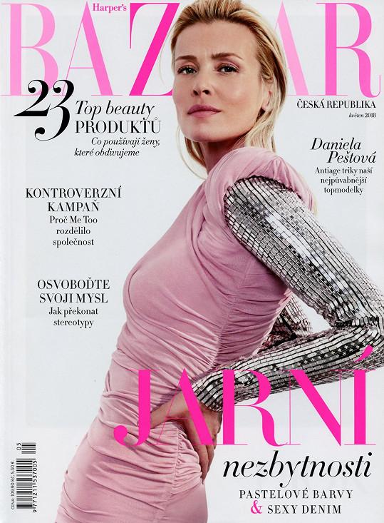 Vyhledávají ji všechny české magazíny včetně Harper's Bazaaru.