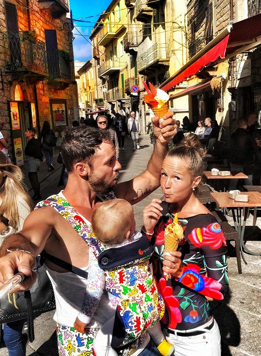 Nejen zmrzlinu, ale italský životní styl na Sardinii ochutnali. A pošmákli si!