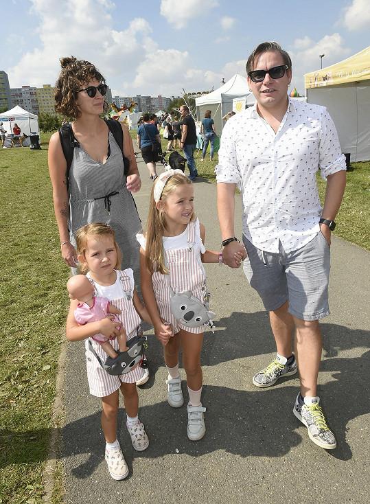 Matěj Ruppert se svou rodinou