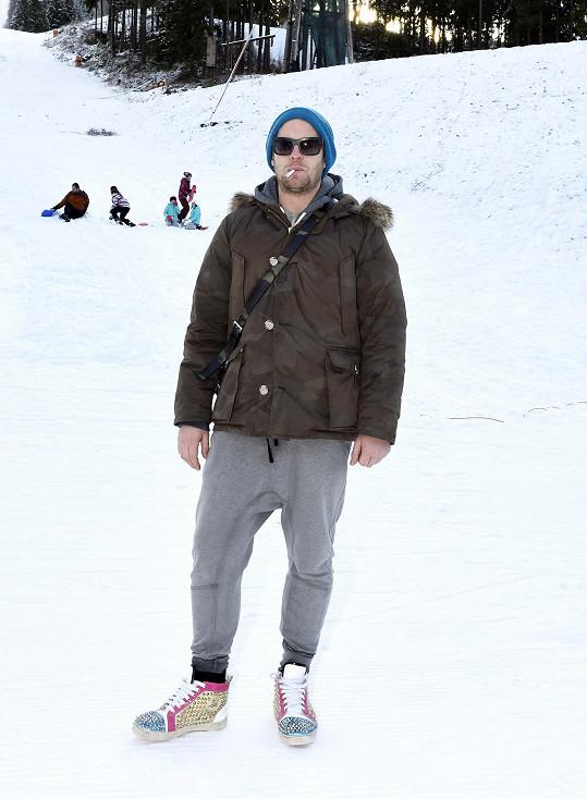 Jakub Prachař a jeho méně horský outfit