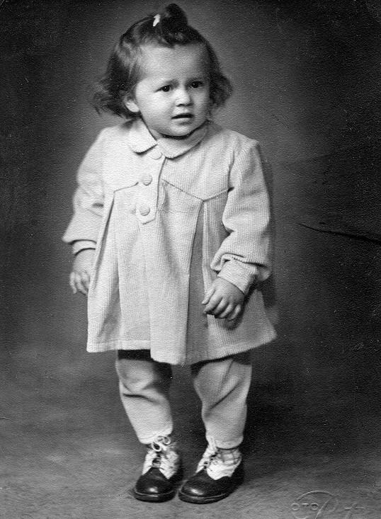 Lenka Termerová byla krásné děvčátko.