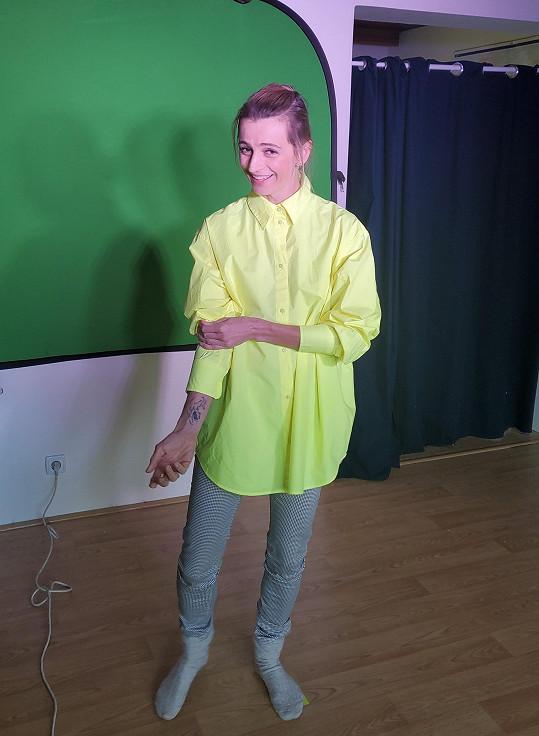 S Ivanou Jirešovou se potkával na zkouškách muzikálu Shreck.