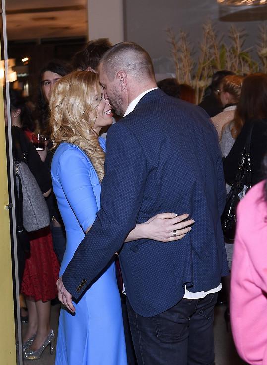 Katka s Tomášem na premiéře muzikálu Rocky