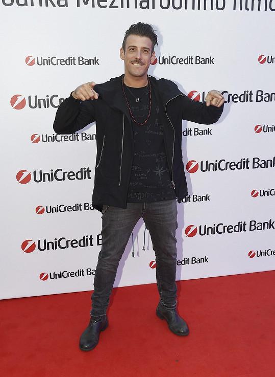 Francesco Gabbani vystupoval na Unicredit párty.