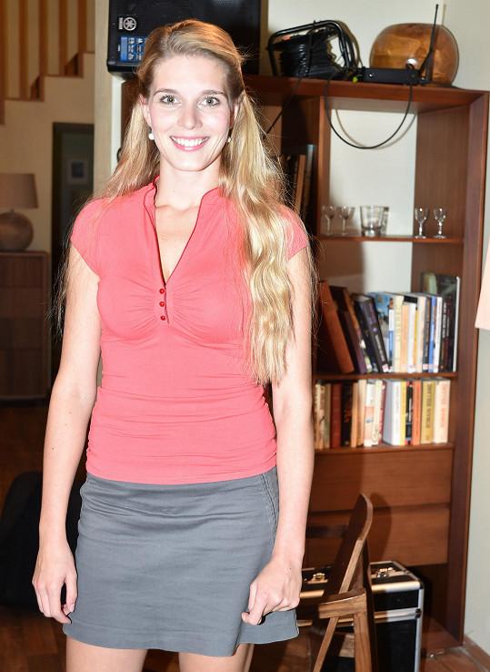 Henrieta Hornáčková je jednou z nejvíc sexy seriálových hereček.