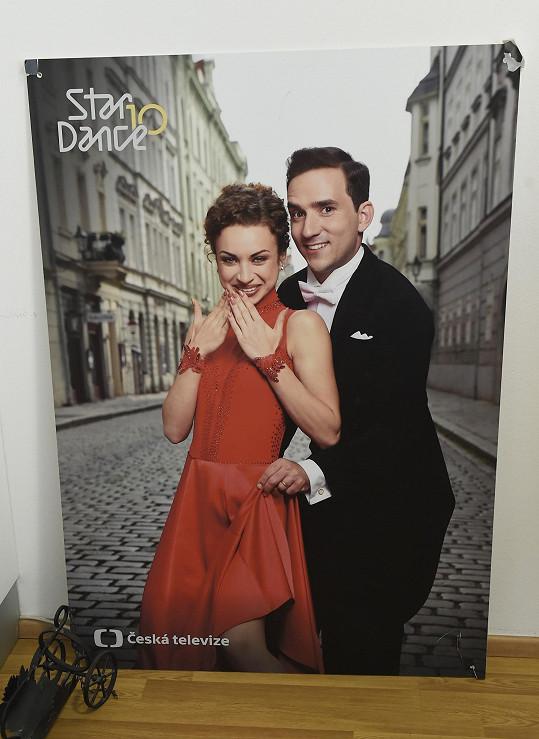 Natálie Otáhalová tančila v poslední řadě.