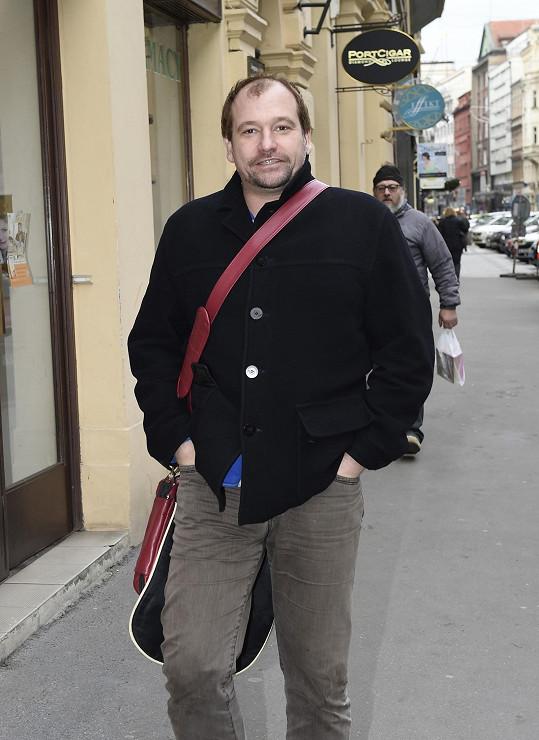Marek Taclík se chystá na novou divadelní premiéru.