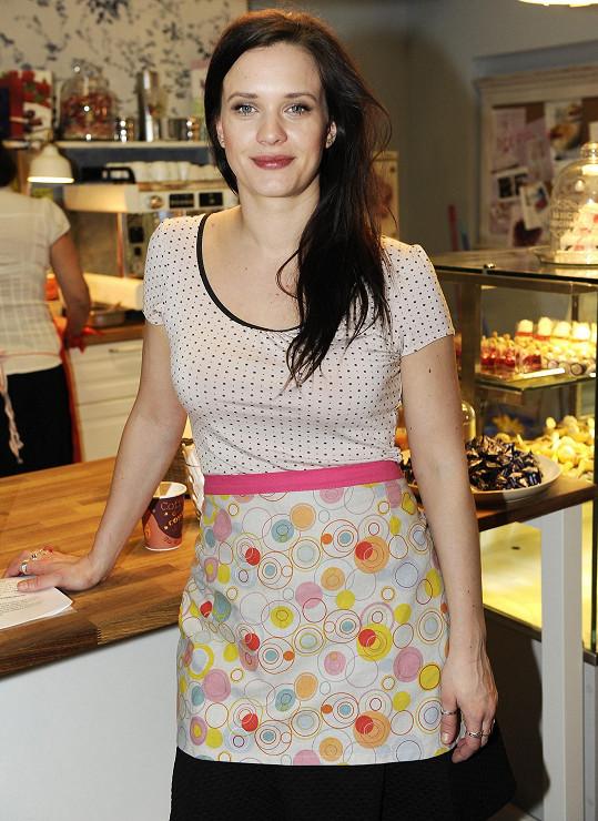 Kristýna bude hrát jednu z hlavních rolí v seriálu Ohnivé kuře.