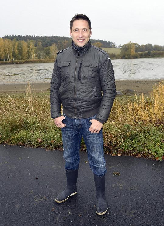 Martin byl pozvaný na výlov rybníka v Nedvězí.